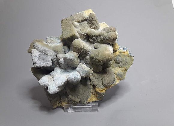 Calcédoine ps calcite