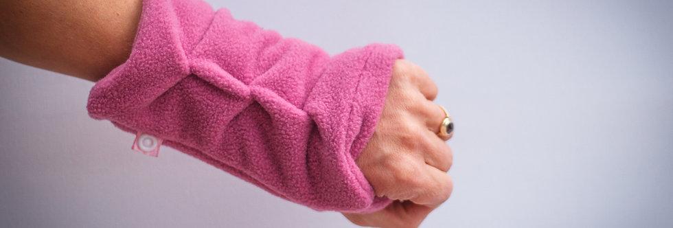 Damen Handstulpen aus Fleece