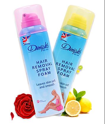 Dimples Hair Removal spray foam 200ml (Rose/Lemon fragrance)