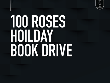 100 Roses Holiday Book Drive