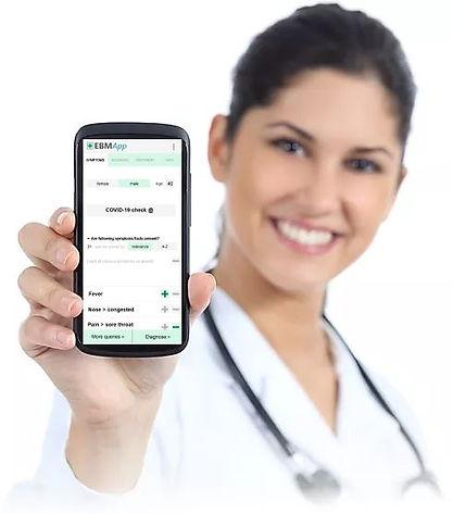 Handy-Arzt-Rechter-Winkel-mit-Screenshot