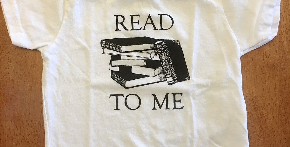 """Read to Me"" Child's Tee"