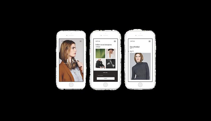 Mobile Webshop