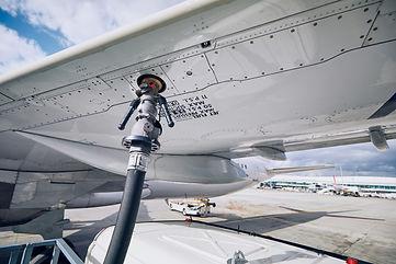 Preparations before flight. Refueling of
