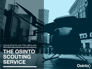 Osinto aviation and aerospace scouting services