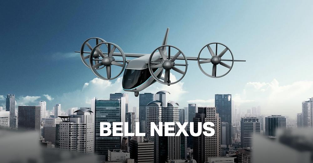 Bell Nexus 4EX eVTOL concept |Image: Bell