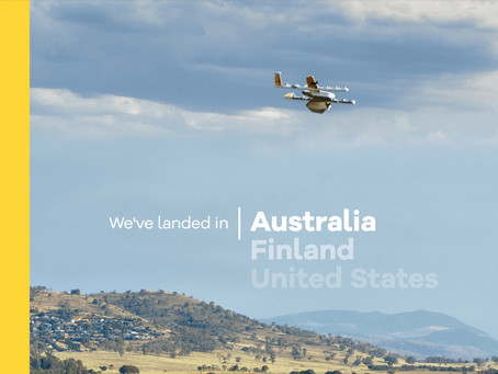 DRONE DELIVERY UNDER GOOGLE'S WING