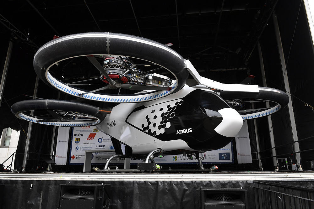 Airbus City Airbus eVTOL - Osinto aerospace intelligence