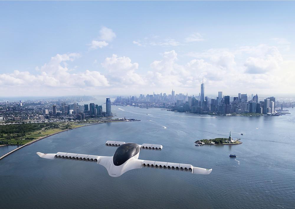 Lilium Jet eVTOL Urban Air Mobility
