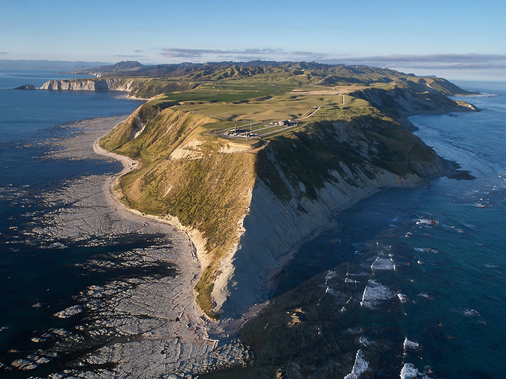 The world's most beautiful launch site? RocketLab's Launch Complex 1 on the Mahia peninsula in New Zealand (Image from RocketLabUSA.com)