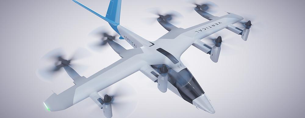 Vertical Aerospace VA-1X eVTOL air taxi - Osinto New Aerospace Intelligence-as-a-Service