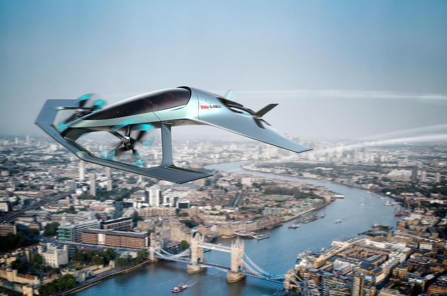 Aston Martin Volante Vision eVTOL concept - Osinto aerospace intelligence