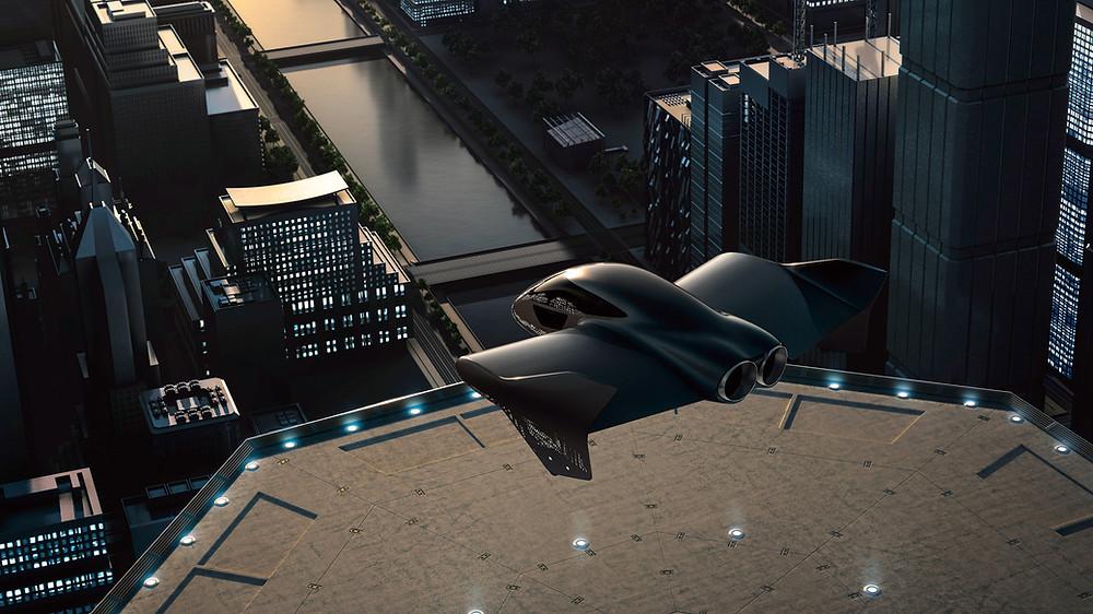 Porsche Boeing eVTOL Concept - Osinto - Aerospace Market Intelligence