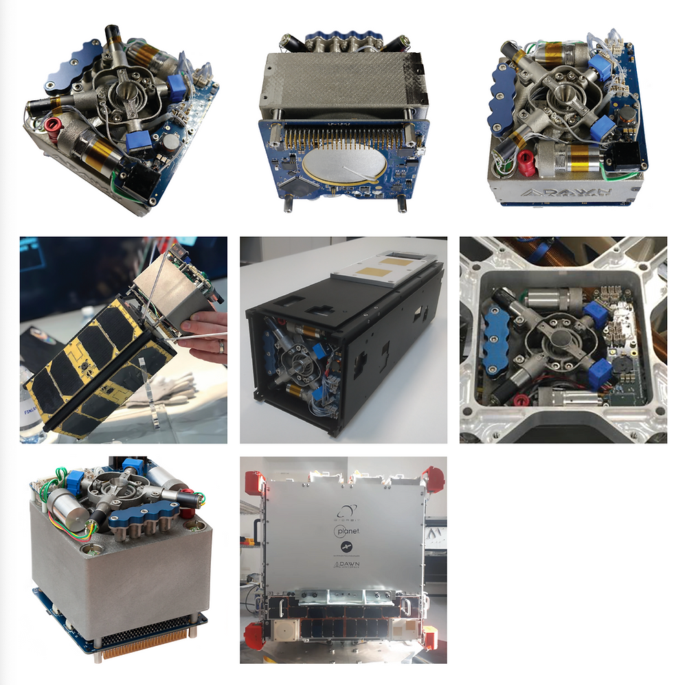 Dawn Aerospace CubeSat propulsion module - Osinto new aerospace intelligence-as-a-service