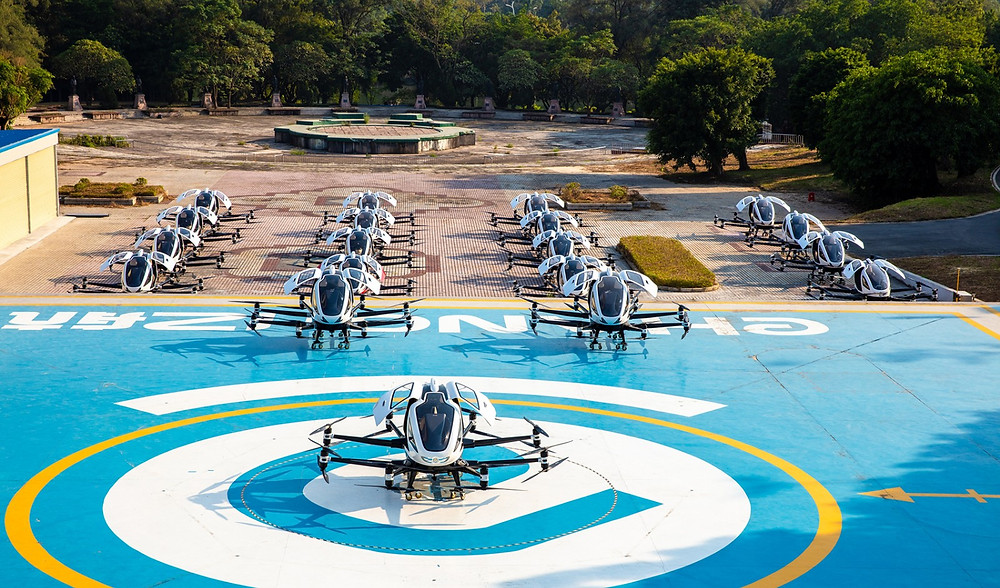 eHang eVTOL AAV - Osinto aerospace intelligence