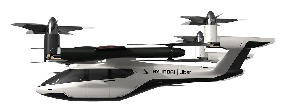 Hyundai SA-1 eVTOL Concept - Uber Elevate - Osinto Aerospace Intelligence