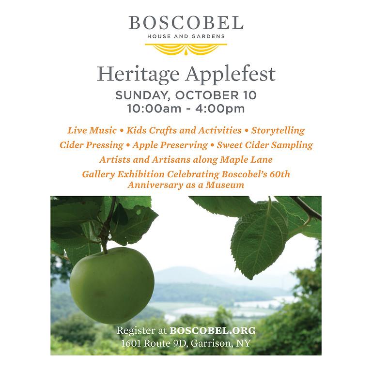 Boscobel Heritage Applefest