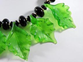 Indigo Handmade Beads