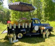 Georgia Blue Flower Truck