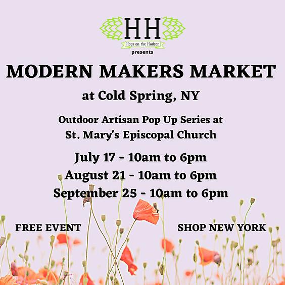 Modern Makers Market at Cold Spring