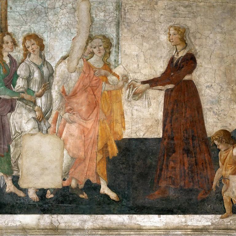 Botticelli, le maître de la ligne