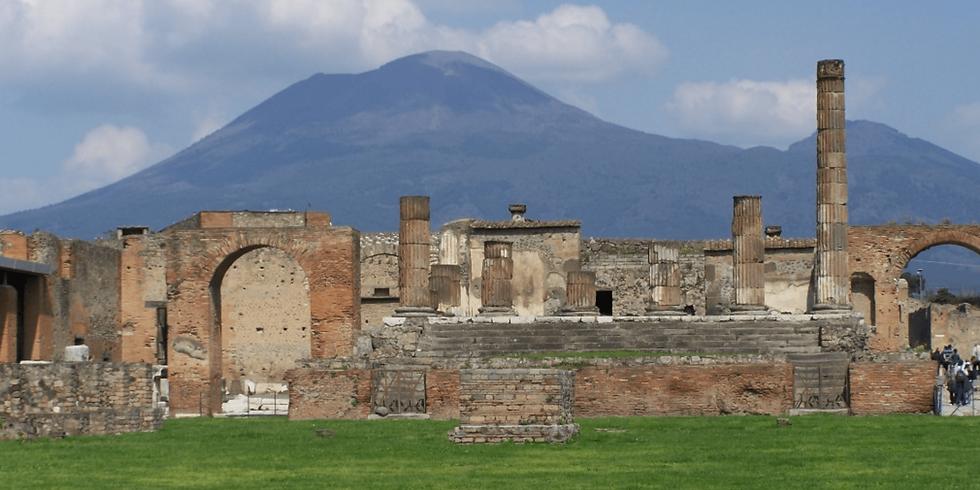 Pompéi, à l'ombre du Vésuve