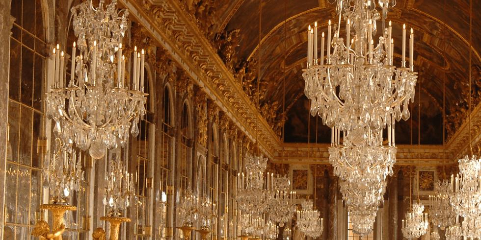 La galerie des Glaces, splendeur de Versailles