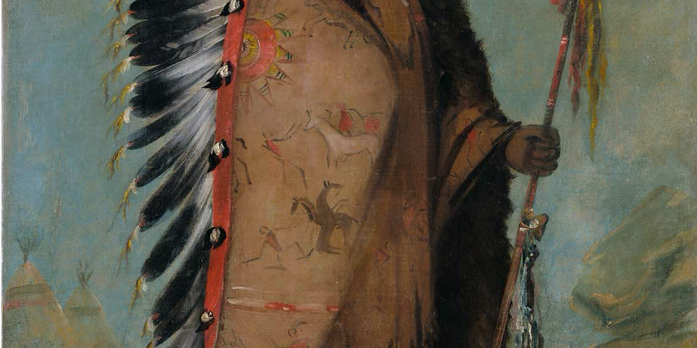 Les Indiens des plaines, artistes du ciel et de la terre
