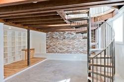 Built-out basement