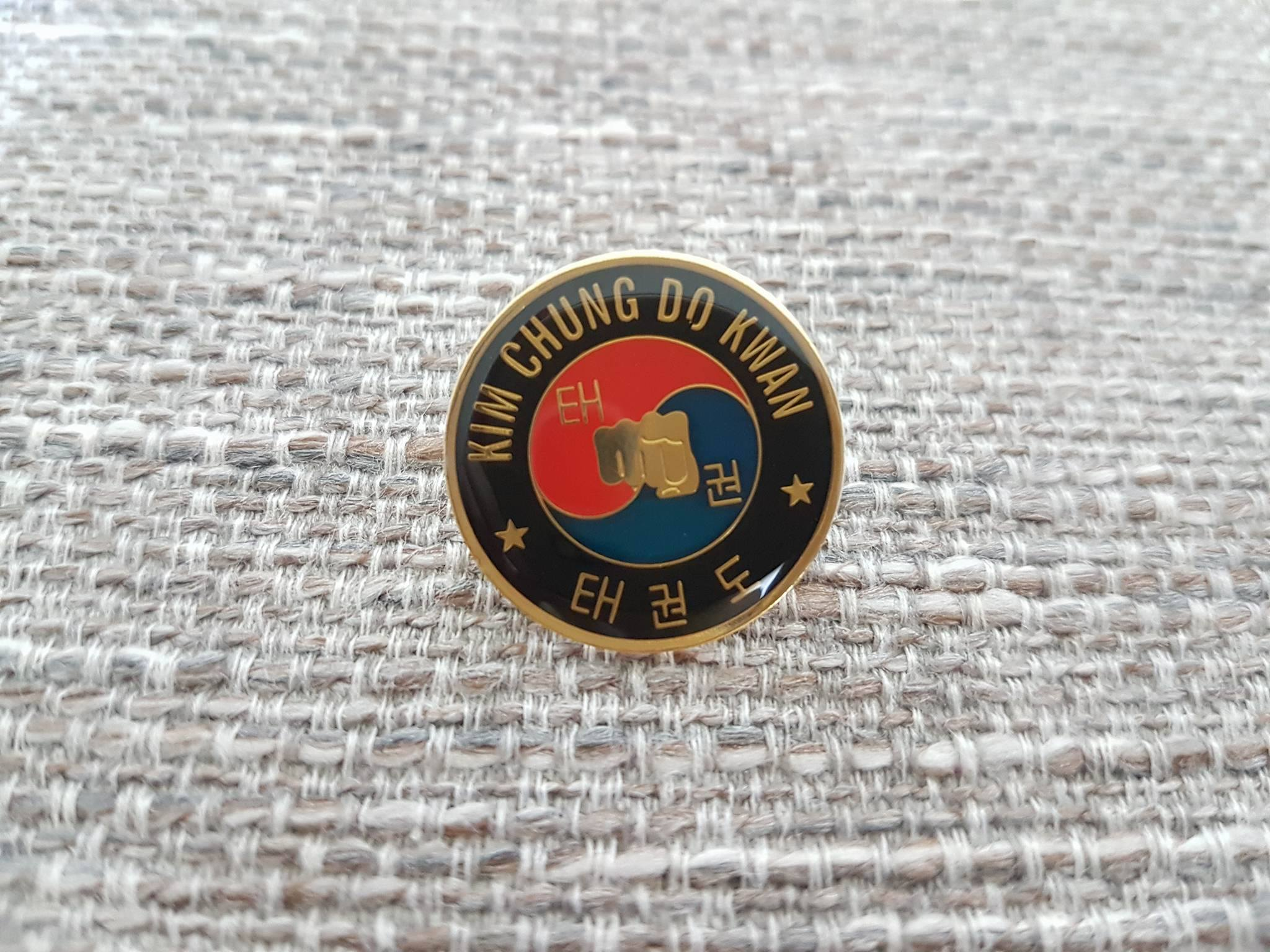 Kim Chung Do Kwan Metal Pin