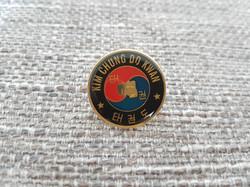 Kim Chung Do Kwan Metal Pin