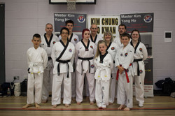 Chung Do Kwan Competition
