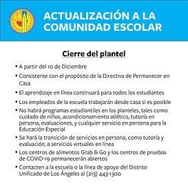 update_december closure_spanish.png