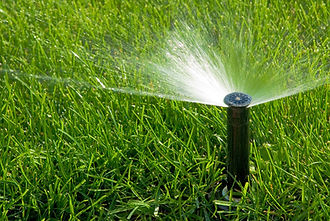 Water sprinklers for lawns