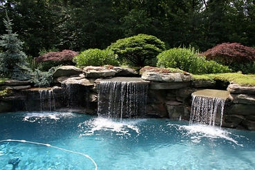 Waterfall design and construction