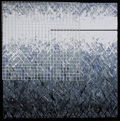 acrylic painting, steve ferretti artist, Safety On The Grid
