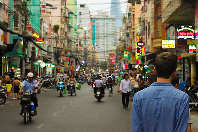 city streets asia