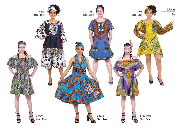 Assorted African/Ankara Prints