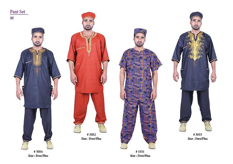 Assorted African/Ankara Prints Pants