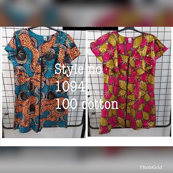 Assorted African/Ankara Prints Tops