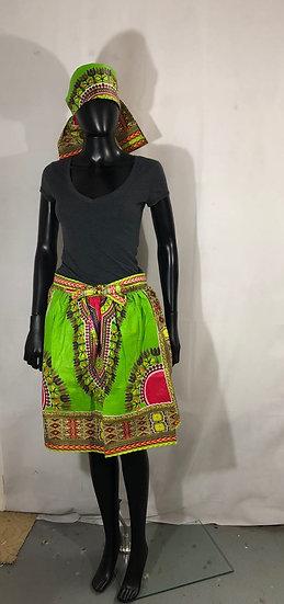 Assorted African/Ankara Print Skirt Set