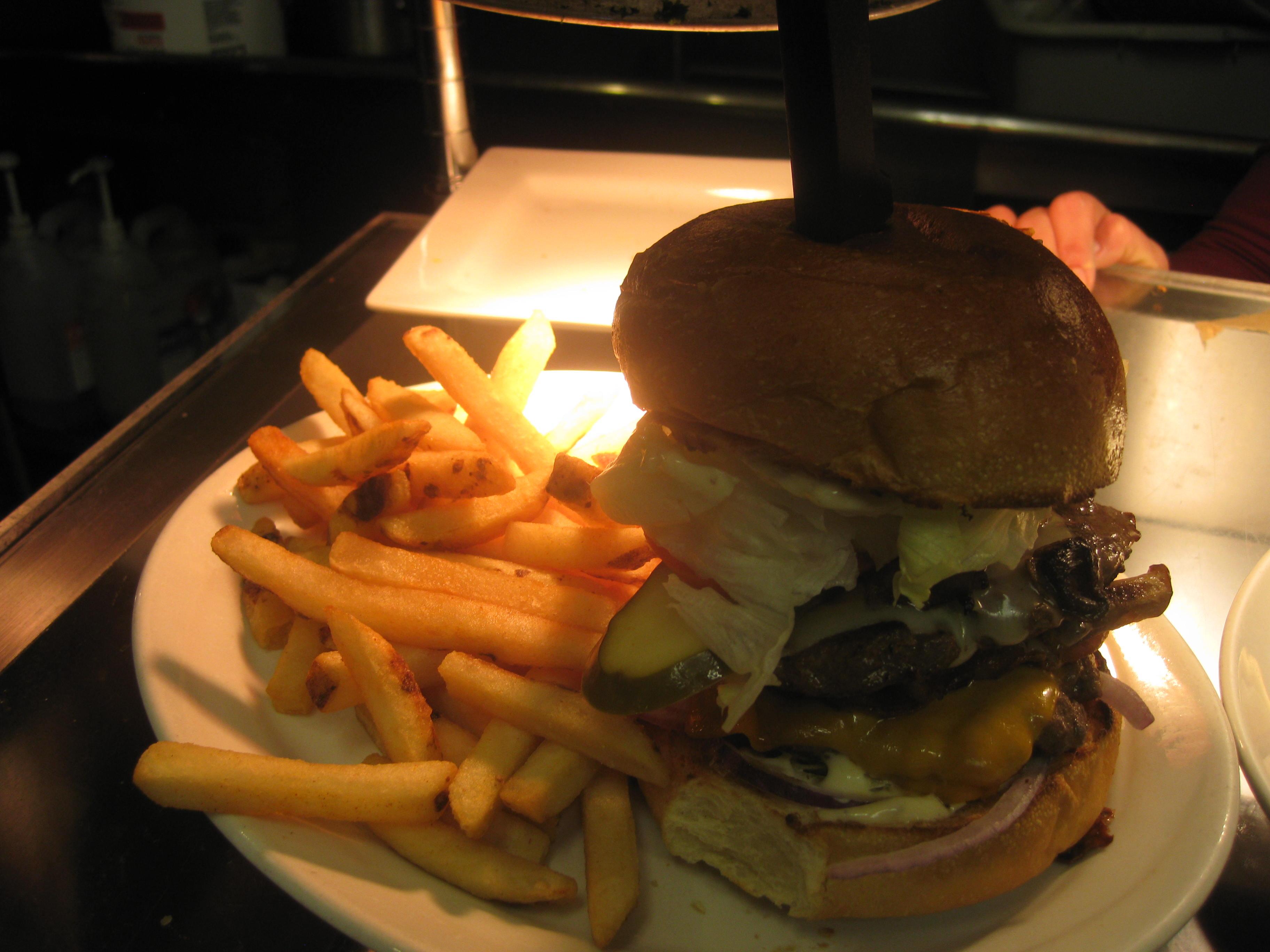Ploughmans Burger