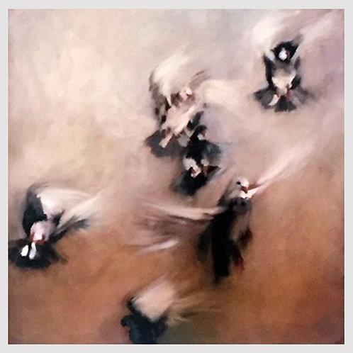 """""""Fly Far Far Away 3""""  Limited Edition Giclee Art Print"""