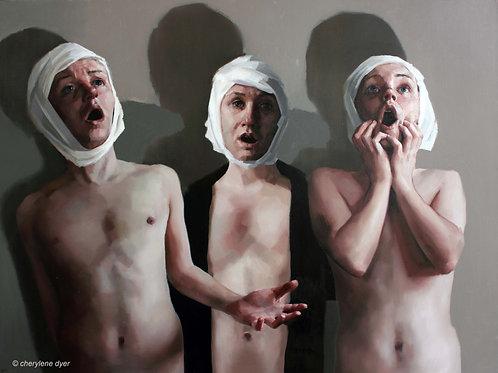 'Resonant Bodies'   Limited Edition Fine Art Giclee Print