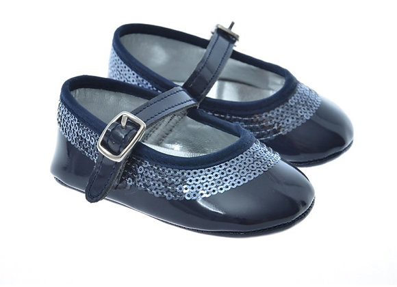 511007 Freesure Lacivert Kız Bebek Patik  Bebek Ayakkabı