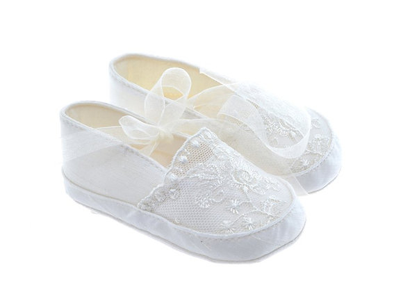 811619 Freesure Ecru Kız Bebek Patik  Bebek Ayakkabı