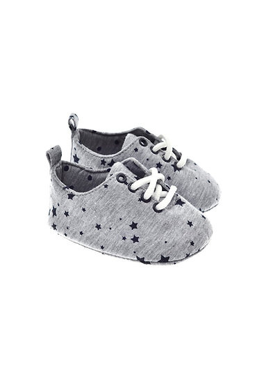 201221 Freesure Gri Erkek Bebek Patik  Bebek Ayakkabı