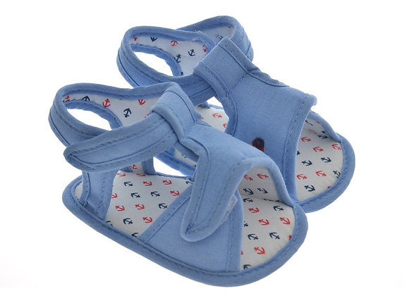 911424 Freesure Açık Jean erkek Bebek Patik  Bebek Ayakkabı