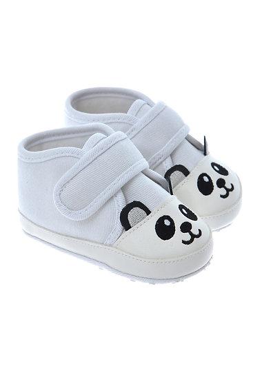 712507 Freesure Beyaz Bebek Patik  Bebek Ayakkabı