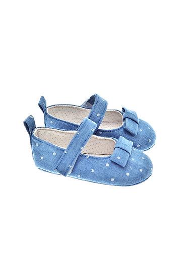 201124 Freesure Açık Kot Kız Bebek Patik  Bebek Ayakkabı